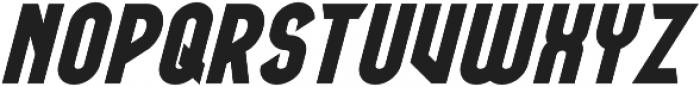 BOATSWAIN Bold Italic otf (700) Font LOWERCASE