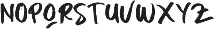 BODY MIST Regular ttf (400) Font UPPERCASE