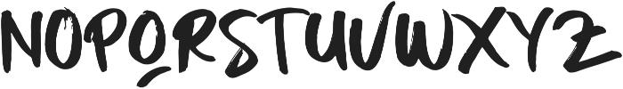 BODY MIST Regular ttf (400) Font LOWERCASE
