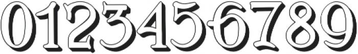 BOSTON-EXTRUDES Regular otf (400) Font OTHER CHARS