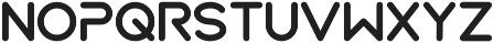 BOYA Alternative otf (700) Font UPPERCASE
