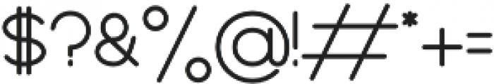 BOYA otf (400) Font OTHER CHARS