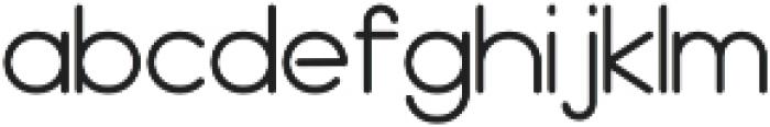 BOYA otf (400) Font LOWERCASE