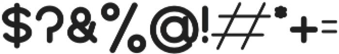 BOYA otf (700) Font OTHER CHARS