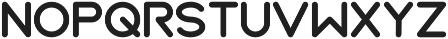 BOYA otf (700) Font UPPERCASE