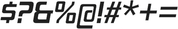 Board of Directors Regular Italic otf (400) Font OTHER CHARS