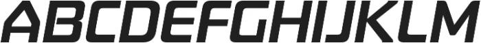 Board of Directors Regular Italic otf (400) Font UPPERCASE