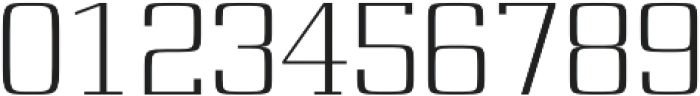 Board regular otf (400) Font OTHER CHARS