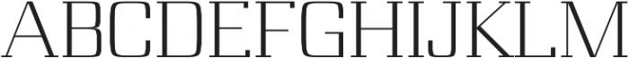 Board regular otf (400) Font UPPERCASE