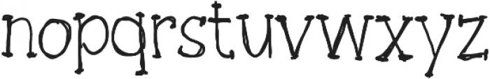 Board writer ttf (400) Font LOWERCASE