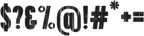 Bobbin Bold Cyrillic otf (700) Font OTHER CHARS