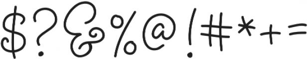 Bobbles Light otf (300) Font OTHER CHARS