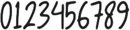 Bochild otf (400) Font OTHER CHARS