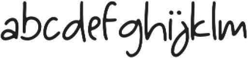 Bochild otf (400) Font LOWERCASE
