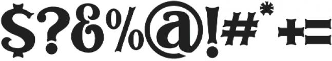 Bodbug ttf (400) Font OTHER CHARS