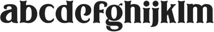 Bodbug ttf (400) Font LOWERCASE