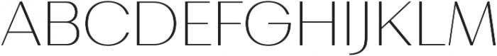 Bodrum Sans 11 Thin otf (100) Font UPPERCASE