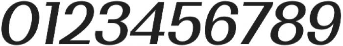 Bodrum Sans 15 Medium Italic otf (500) Font OTHER CHARS