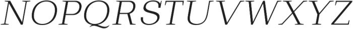 Bodrum Slab 12 Extra Light Italic otf (200) Font UPPERCASE