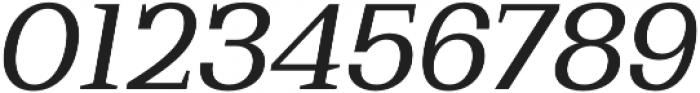 Bodrum Slab 14 Regular Italic otf (400) Font OTHER CHARS