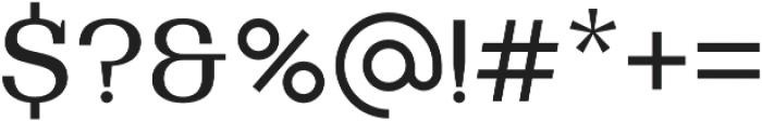 Bodrum Slab 14 Regular otf (400) Font OTHER CHARS