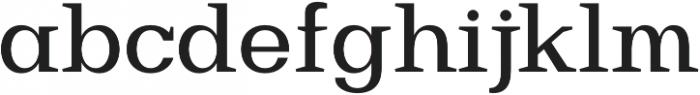 Bodrum Slab 15 Medium otf (500) Font LOWERCASE
