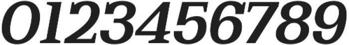 Bodrum Slab 16 Bold Italic otf (700) Font OTHER CHARS