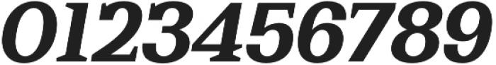 Bodrum Slab 17 Extra Bold Italic otf (700) Font OTHER CHARS