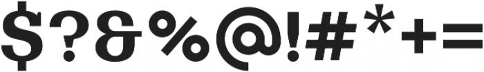 Bodrum Slab 17 Extra Bold otf (700) Font OTHER CHARS