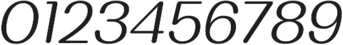 Bodrum Soft 13 Light Italic otf (300) Font OTHER CHARS