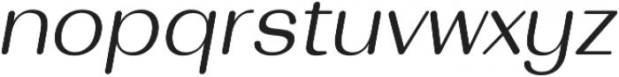 Bodrum Soft 13 Light Italic otf (300) Font LOWERCASE