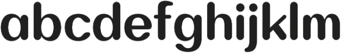 Bodrum Soft 17 Extra Bold otf (700) Font LOWERCASE
