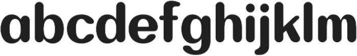 Bodrum Soft 18 Heavy otf (800) Font LOWERCASE