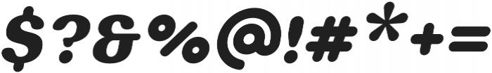 Bodrum Soft 19 Black Italic otf (900) Font OTHER CHARS