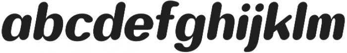 Bodrum Soft 19 Black Italic otf (900) Font LOWERCASE