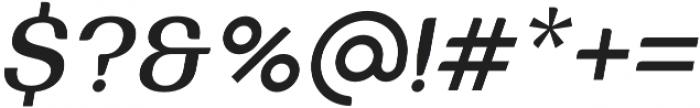 Bodrum Sweet 15 Medium Italic otf (500) Font OTHER CHARS