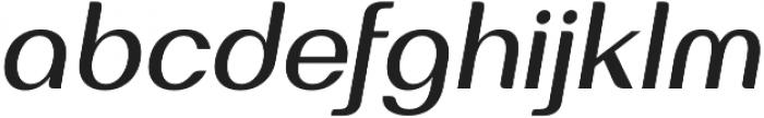 Bodrum Sweet 15 Medium Italic otf (500) Font LOWERCASE
