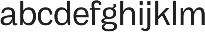 Body Grotesque otf (400) Font LOWERCASE