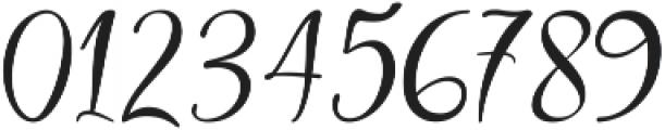 Body Silver Script Regular ttf (400) Font OTHER CHARS