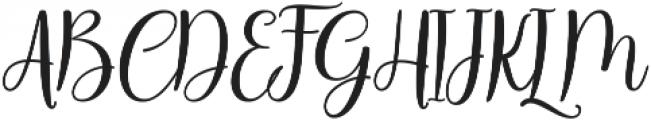 Body Silver Script Regular ttf (400) Font UPPERCASE