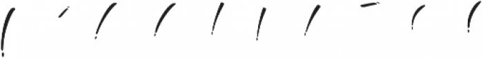 Boga-bogi layered otf (400) Font OTHER CHARS
