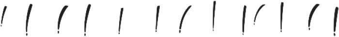 Boga-bogi layered otf (400) Font UPPERCASE