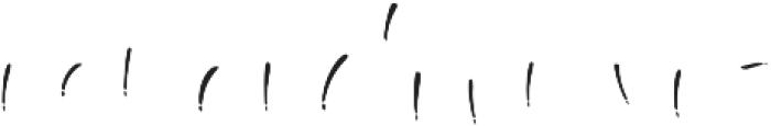 Boga-bogi layered otf (400) Font LOWERCASE