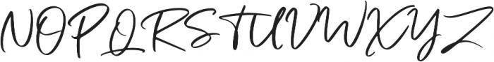 Bogoritmaa Signature otf (400) Font UPPERCASE