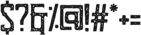 Bohem Vintage otf (400) Font OTHER CHARS