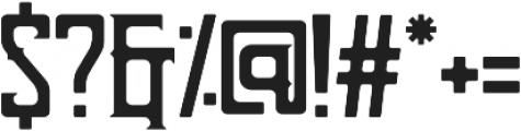 Bohem otf (400) Font OTHER CHARS