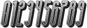 Bohema Uppercase Regular Combo Italic otf (400) Font OTHER CHARS