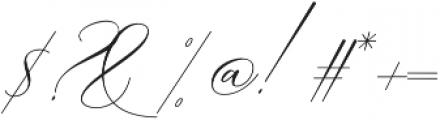 Boheme Floral Regular otf (400) Font OTHER CHARS