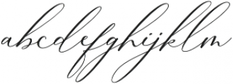 Boheme Floral Regular otf (400) Font LOWERCASE