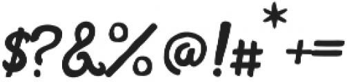 Bohemian Alchemist Script otf (400) Font OTHER CHARS